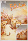 Vintage Palestine Travel advertisement print poster, 4 sizes available