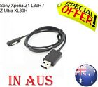 NEW 1M Black Magnetic USB Charger Cable Adapter for Sony Xperia Z1 Z2  MEL Sent
