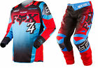 NEW 2015 FOX RACING 180 IMPERIAL MX DIRTBIKE MOTOCROSS GEAR COMBO BLUE ALL SIZES