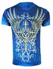 KONFLIC NO REGRETS ROYAL CROSS T SHIRT FALLEN MMA MEN'S ALL SIZES BATTLE WEAR