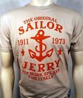SAILOR JERRY RUM MY WORK SPEAKS TATTOO SILVER CLASSIC MENS T TEE SHIRT S-2XL