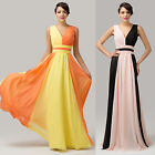 Delicate/Sexy/Splicing/Chiffon /V Neck Prom Gown Evening Party Rockability Dress