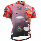 FIXGEAR mens cycling jersey bicycle shirts outdoor team top S~3XL