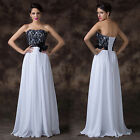 Sexy Chiffon Prom Club Homecoming Party Wedding Dress Bridal Formal Evening Gown