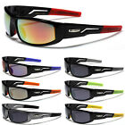 Sports Wrap-Around Men Sunglasses Running Baseball Cycling Golf Driving Glasses
