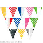 Spots Stripes Summer Party Baby Shower Supplies Decorations FLAG BANNER BUNTING