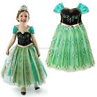 Girls Kids Princess Costume Cosplay Tulle Dress Skirts Clothes 3-11T EN24H