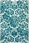 Structure Collection Fenway Wool Rug, Black, Red or Aqua, 4 Size Options. CT67