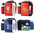 Official Football Club - Kids LUNCH BAG & BOTTLE SET (Back To School) (Lunchbox)