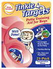 """30 Pack ORIGINAL  """"Tinkle Targets"""" Potty Training Aids Transportation or Sports"""
