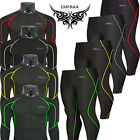EMFRAA Skins compression under baselayer tights shirt and pants set S~2XL