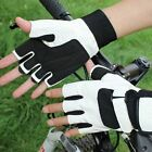 1 Pair Breathable Cycling Bike Bicycle Glove Antiskid Half Finger Sports Gloves