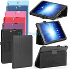 "Folio PU Leather Stand Case Cover for E-Fun 7.85inch Nextbook 8.0"" NX785QC8G Tab"
