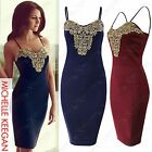 NEW LADIES STRAPPY CROCHET LACE DRESS WOMENS BODYCON CELEB LOOK DRESSES CAMI TOP