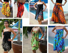 4-IN-1 TIE-DYE -HITCH SKIRT / DRESS -GYPSY-BOHO-VARIOUS COLOURS