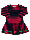 Florence Eiseman Navy & Red Stripe Knit Dress Size 12M-4T $78-$82 NWT