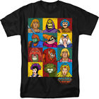 Masters Of The Universe He-Man Characters Licensed Adult Shirt S-3XL