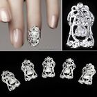 Crystal rhinestone nail art ALLOY DIY manicure 5 Pcs 3D SLICES Metal CRAFT ItS7