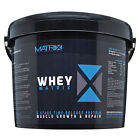 5LB 2.25KG WHEY PROTEIN MATRIX POWDER DRINK MUSCLE GROWTH STRENGTH BODYBUILDING
