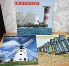 Wall Planner/Calendar,choice of designs. Beach Huts, Windmills or Lighthouses