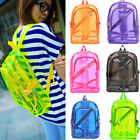 Women Transparent Clear Backpack Plastic Student Bag School Bookbag Top Sales
