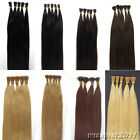 "Pre Bonded Keratin Stick I Tip Indian Remy Human Hair Extensions 16""-24"" 100S 6A"