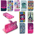 New Card Holder Pocket Wallet Flip Leather Case Stand Pouch Cover for Cell Phone