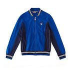 Mens Designer Retro Fila Settanta Vintage Casual Tracktop In Royal Blue