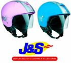 AGV BALI B2 TRENDY OPEN-FACE MOTORCYCLE MOTORBIKE SCOOTER PASTEL LADIES HELMET