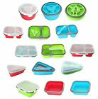 GOOD 2 GO Expandable Plastic Storage Containers Lunch Snack Sandwich Food Box