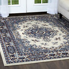 Traditional Oriental Medallion Area Rug Persian Style Carpet Runner Mat AllSizes