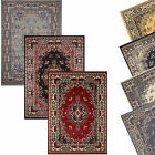 Traditional Oriental Medallion Area Rug Persian Style Carpet Runne