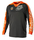 NEW 2015 TROY LEE DESIGNS SE PRO CORSE MX JERSEY GREY FLO ORANGE ALL SIZES