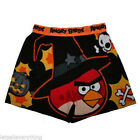 ANGRY BIRDS HALLOWEEN BOXERS Black Red Witches Hat