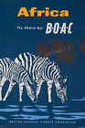 Vintage BOAC Airlines Africa Travel Ad print poster-4 sizes available
