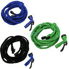 75FT Expanding Flexible Expandable Garden Water Pocket Hose With Valve Rubber US