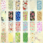 Flowers Designs Painted Hard Back Skin Case Cover Shell For IPhone 4 4S 5 5S