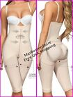 Capri Body Shaper with open bust, Size reducer Butt Lifter Moldeate 1049, Nude