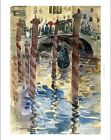MAURICE PRENDERGAST Venetian Scene canal new CANVAS! various SIZES available