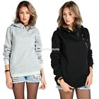 Women Long Sleeve Hoodie Hooded Coat Jacket Outwear Sweatshirt Tops EN24H