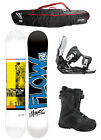 FLOW MERC White 159cm WIDE Snowboard+Flite 2 Bindings+Flow BOA Boots + FLOW BAG