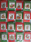 "**AUTUMN SALE** DMC Mini Counted Cross Stitch Kits ""CHRISTMAS"""
