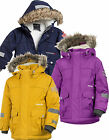 Didriksons Vinson Kids Parka 3 -10yrs 100% Waterproof Insulated Children's Coat