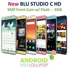 New BLU Studio 5.0 C HD 8MP DUAL SIM Android S II KitKat Unlocked GSM Phone D534
