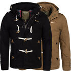 Young & Rich warme Duffle Herren Winter Jacke Parka Mantel Winterjacke JK-414