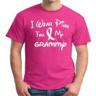 I Wear Pink For My GRAMMY  Breast Cancer Awareness T Shirt