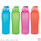 Sports Water Drinking BOTTLE - 750ml BPA Free Plastic Sports Gym Fitness Drinks