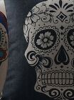 Sugar Skull Punk Retro Gothic Home Decor Pillow Covers 3 styles