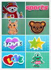 Colorful Embroidered Chenille Sew On Applique Patches /Badges - Cartoon /Love