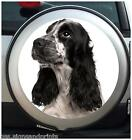 COCKER SPANIEL SPARE WHEEL COVER STICKER 4X4 (CHOICE OF SIZES)